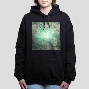 Wonderful roses pattern Women's Hooded Sweatshirt