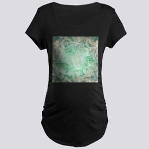 Wonderful roses pattern Maternity T-Shirt