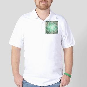Wonderful roses pattern Golf Shirt