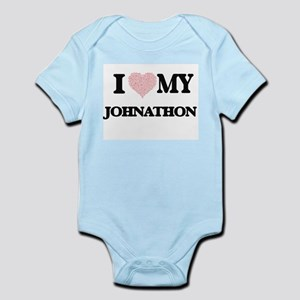 I Love my Johnathon (Heart Made from Lov Body Suit