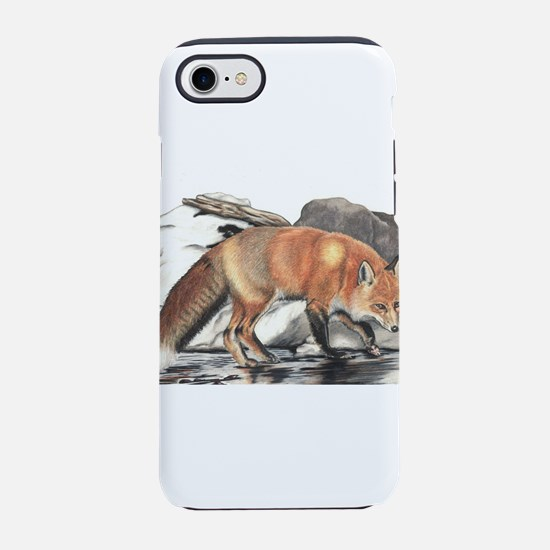 Red Fox iPhone 8/7 Tough Case