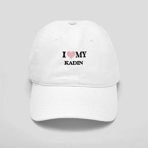 I Love my Kadin (Heart Made from Love my words Cap