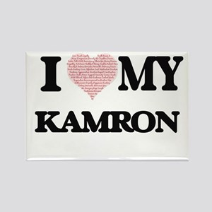 I Love my Kamron (Heart Made from Love my Magnets
