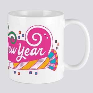 Happy New Year's Party Mug