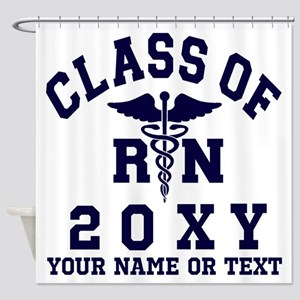 Class Of 20?? Nursing (rn) Shower Curtain