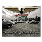 Virginia Skies Truck Small Poster