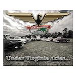 Virginia Skies Truck Small Poster