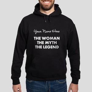 Custom Woman Myth Legend Hoodie (dark)
