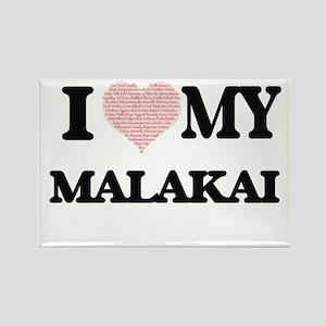 I Love my Malakai (Heart Made from Love my Magnets