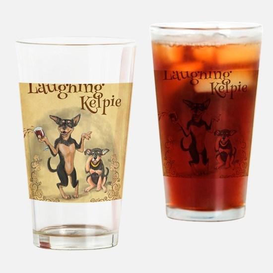 Unique Kelpie Drinking Glass
