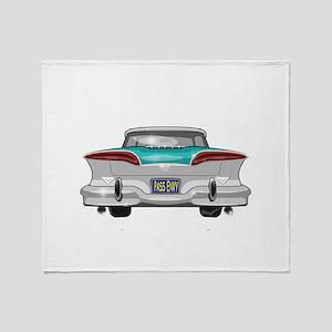 1958 Edsel Throw Blanket