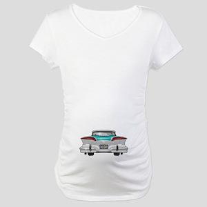 1958 Edsel Maternity T-Shirt