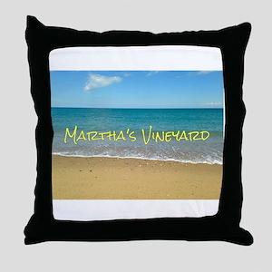Chappaquiddick Beach Throw Pillow