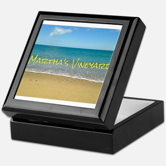 Chappaquiddick Beach Keepsake Box