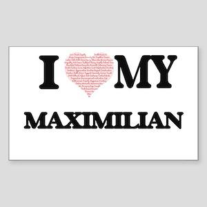 I Love my Maximilian (Heart Made from Love Sticker