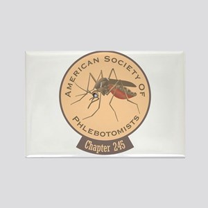 American Society Of Phlebotomists Rectangle Magnet