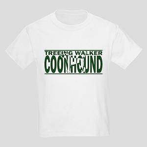 Hidden TW Coonhound Kids Light T-Shirt