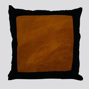 BRUSHED SUEDE TEXTURE Throw Pillow