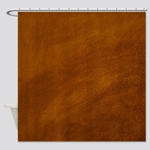 BRUSHED SUEDE TEXTURE Shower Curtain