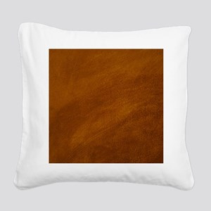 BRUSHED SUEDE TEXTURE Square Canvas Pillow