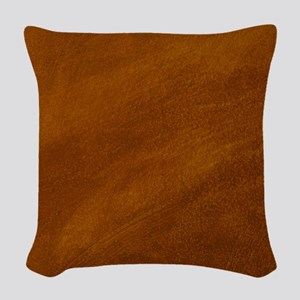 BRUSHED SUEDE TEXTURE Woven Throw Pillow