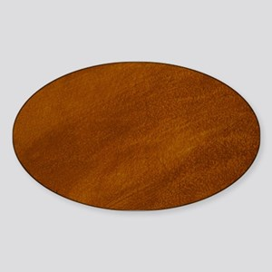 BRUSHED SUEDE TEXTURE Sticker (Oval)