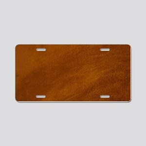 BRUSHED SUEDE TEXTURE Aluminum License Plate