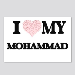 I Love my Mohammad (Heart Postcards (Package of 8)