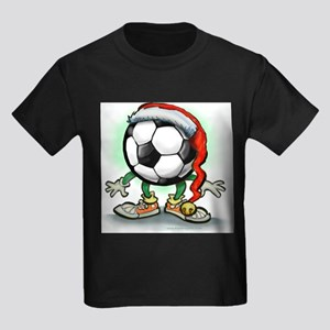 Soccer Christmas Tee T-Shirt