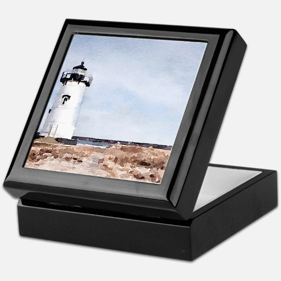 Edgartown Lighthouse Keepsake Box