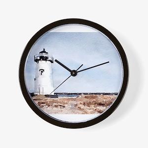 Edgartown Lighthouse Wall Clock