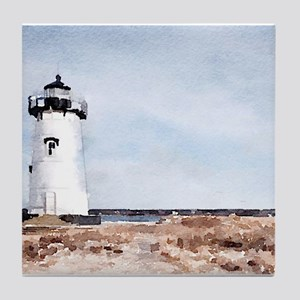 Edgartown Lighthouse Tile Coaster