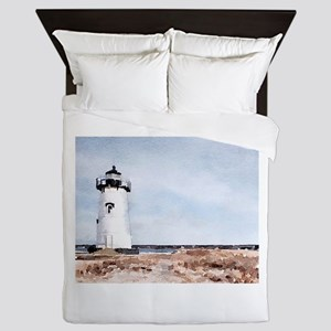 Edgartown Lighthouse Queen Duvet