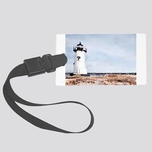 Edgartown Lighthouse Large Luggage Tag