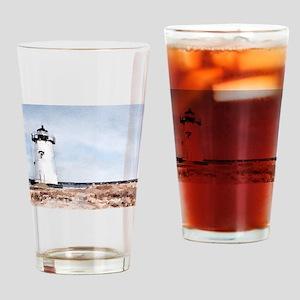 Edgartown Lighthouse Drinking Glass