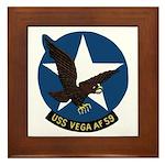 USS Vega (AF 59) Framed Tile