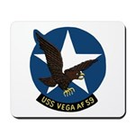 USS Vega (AF 59) Mousepad