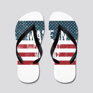 Made in Piney Point, Maryland Flip Flops