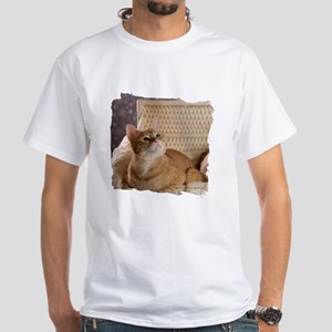 Loki in Basket 1 White T-Shirt