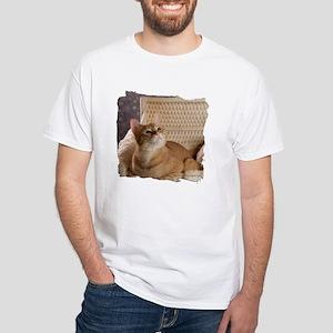 Loki in Basket 1 White T-Shirt