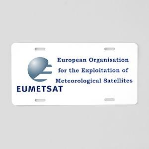 EUMETSAT Logo Aluminum License Plate