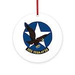 USS Vega (AF 59) Ornament (Round)