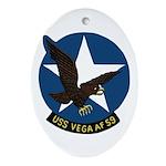 USS Vega (AF 59) Oval Ornament