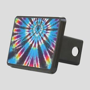 Rainbow Tie Dye Hitch Cover