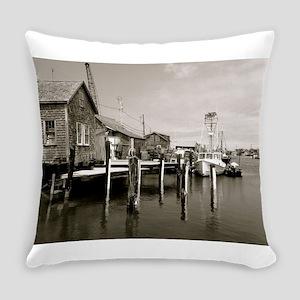 Menemsha Black & White Everyday Pillow