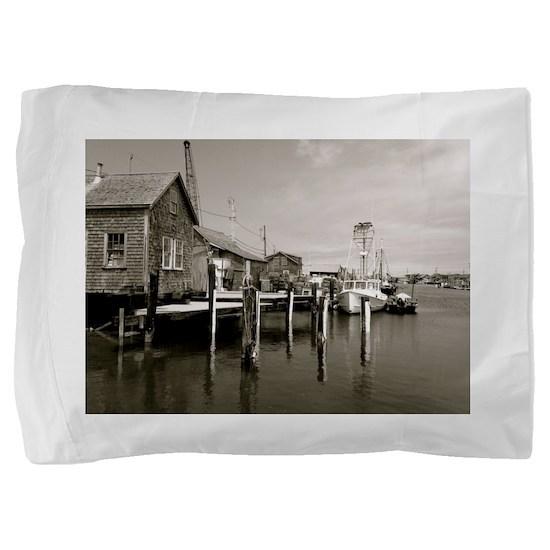 Menemsha Black & White Pillow Sham