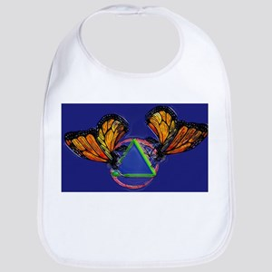 Recovery Butterfly Bib