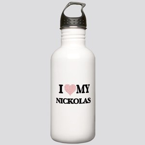 I Love my Nickolas (He Stainless Water Bottle 1.0L