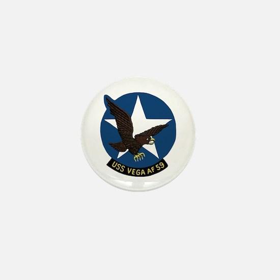 USS Vega (AF 59) Mini Button