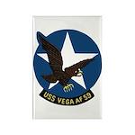 USS Vega (AF 59) Rectangle Magnet (100 pack)